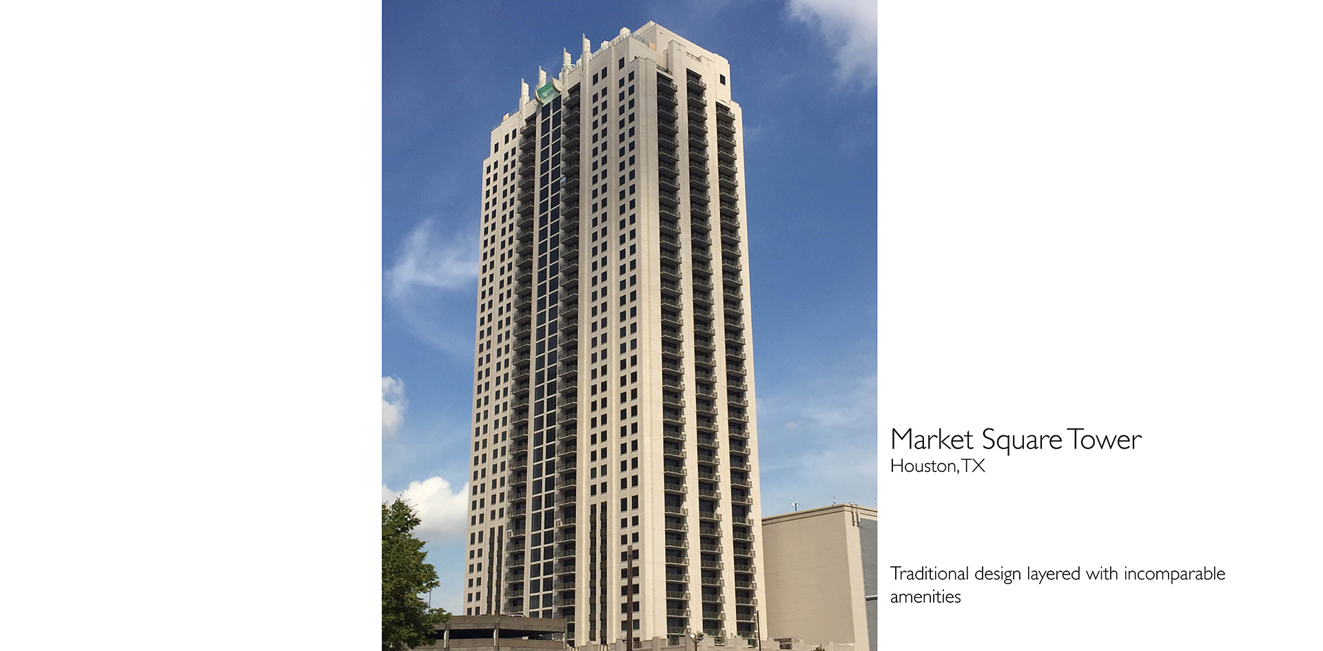 Jackson & Ryan Architects Market Square Tower