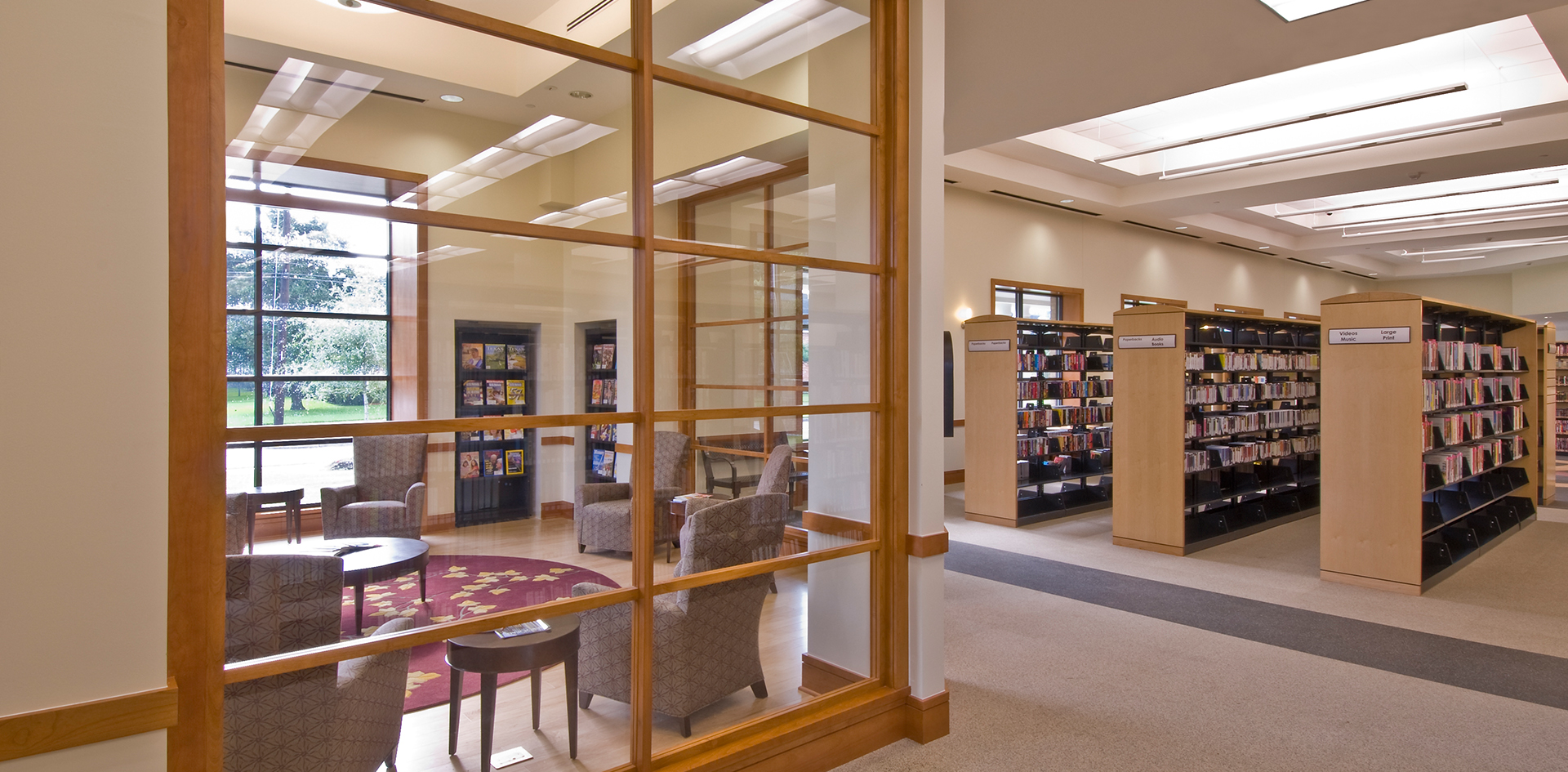 Looscan Reading Room psd
