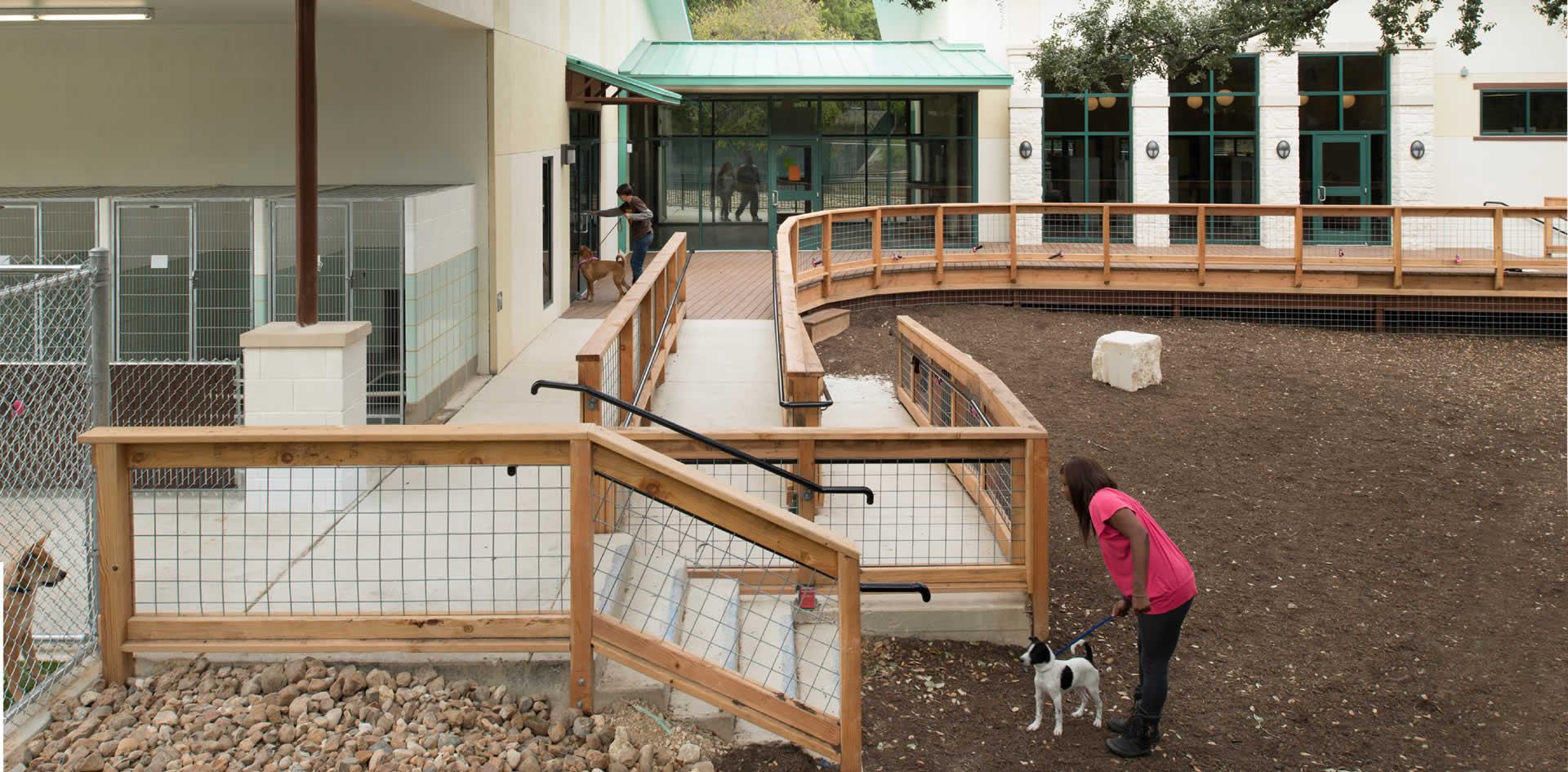 Jackson Amp Ryan Architects San Antonio Animal Shelter
