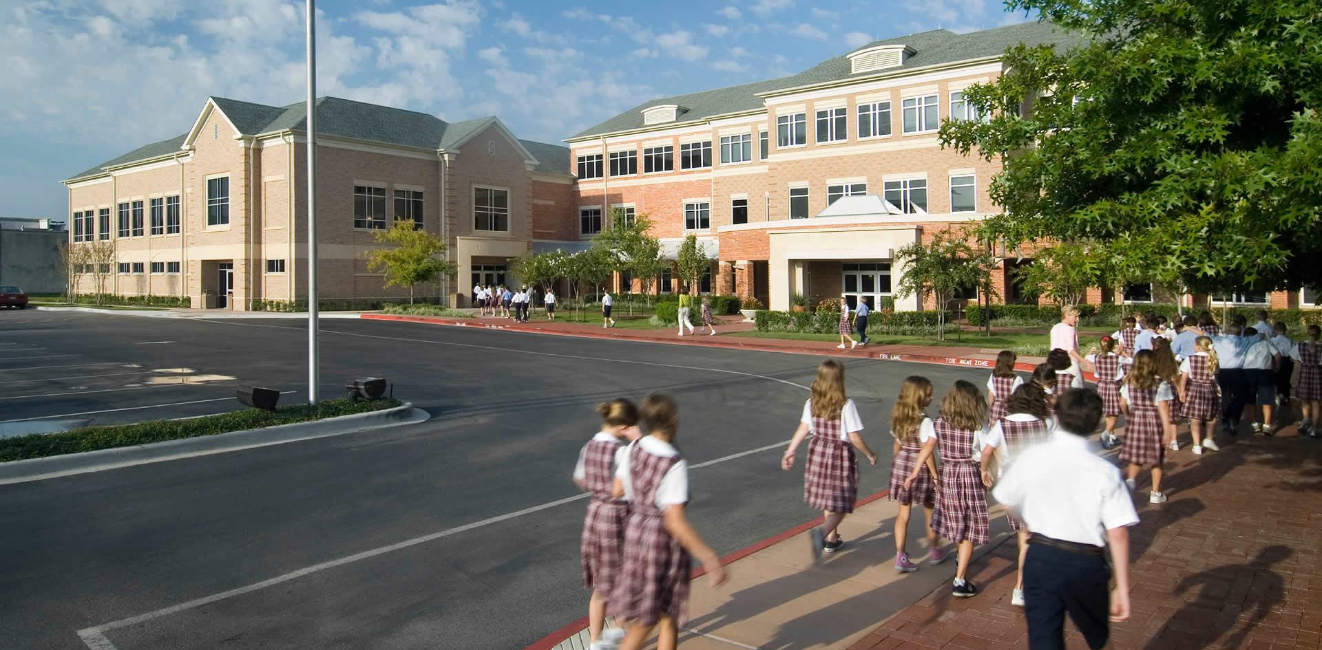 River Oaks Texas >> Jackson & Ryan Architects | River Oaks Baptist Church School
