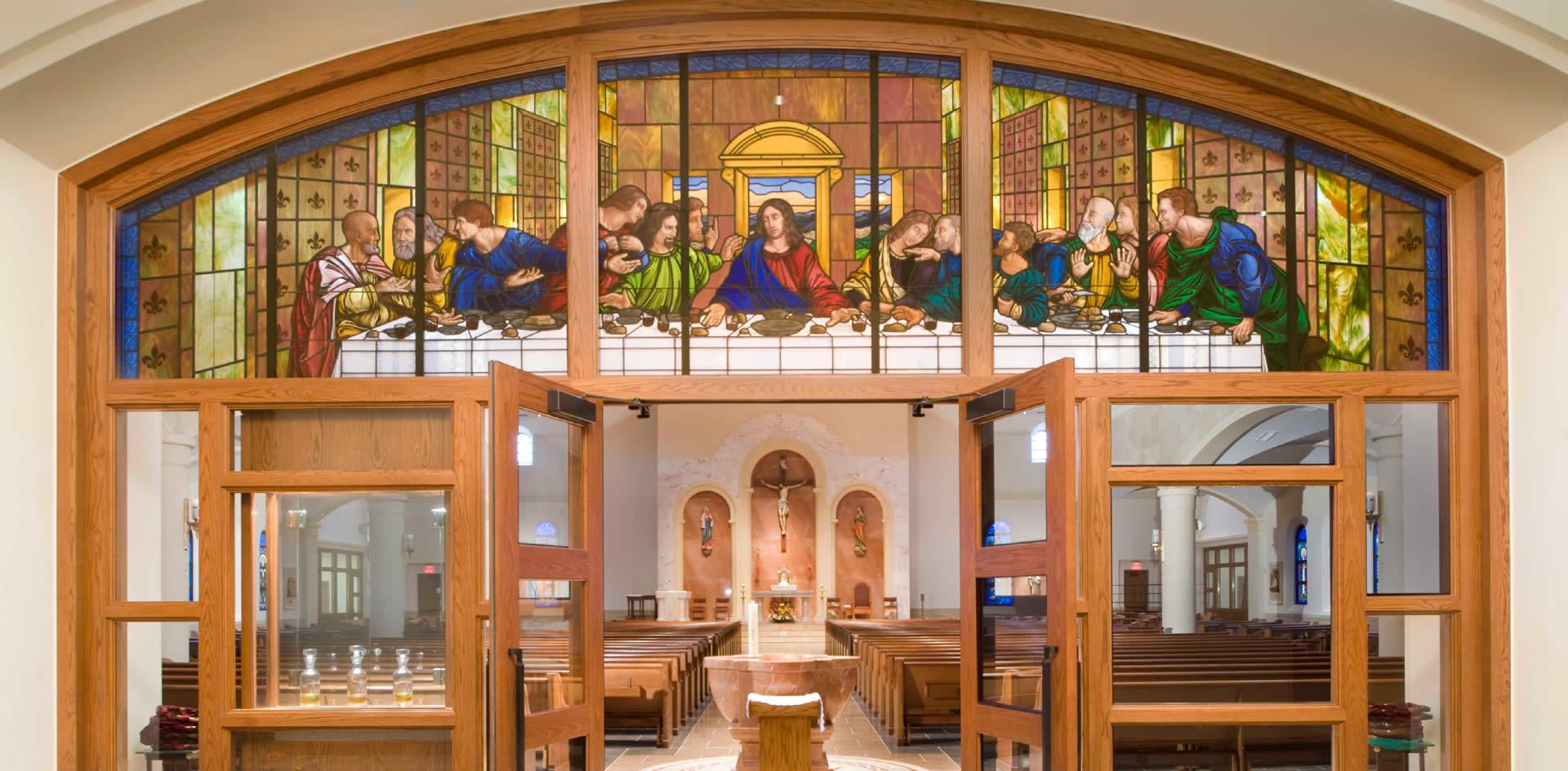 Jackson & Ryan Architects | Our Lady of Lourdes Catholic Church
