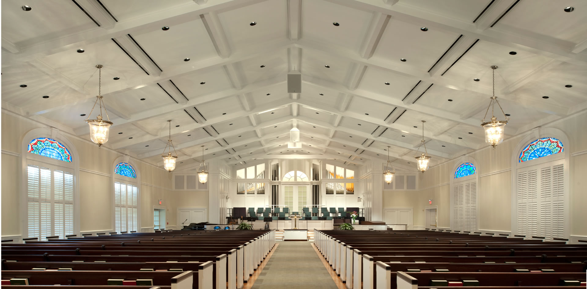 Jackson Ryan Architects River Oaks Baptist Sanctuary Renovation