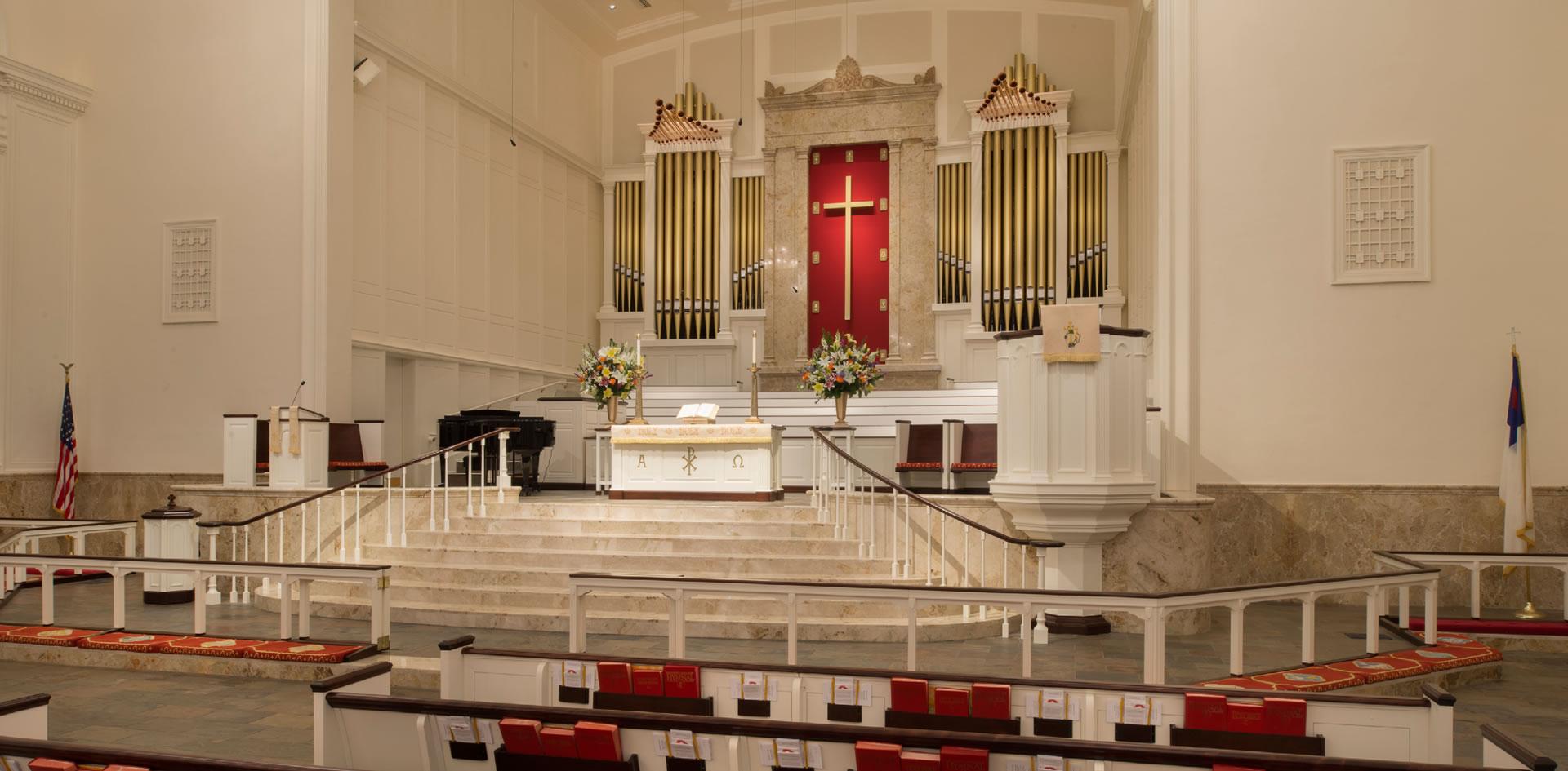 Jackson & Ryan Architects | St  Luke's United Methodist Church