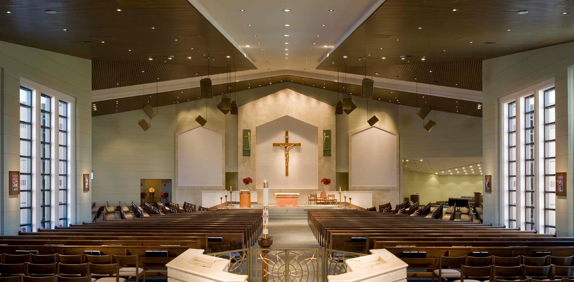 River Oaks Texas >> Jackson & Ryan Architects | St. Maximilian Kolbe Catholic Church